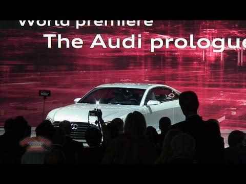 2014 LA Auto Show - Audi Presentation