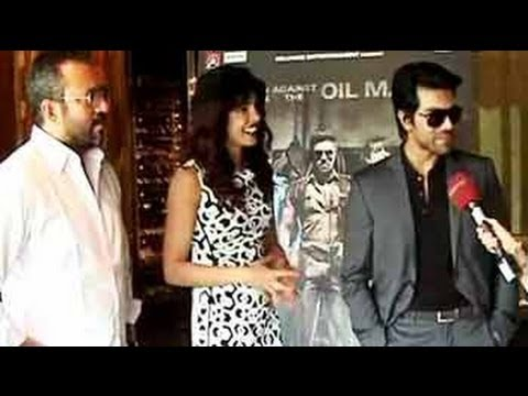 Hope People Compare Zanjeer A Little Less: Ram Charan Teja video