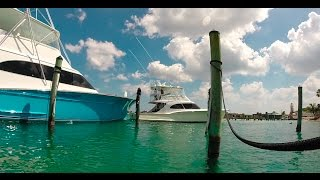 Parking a 3 MILLION dollar boat in Tiny, Shallow Slip!!!