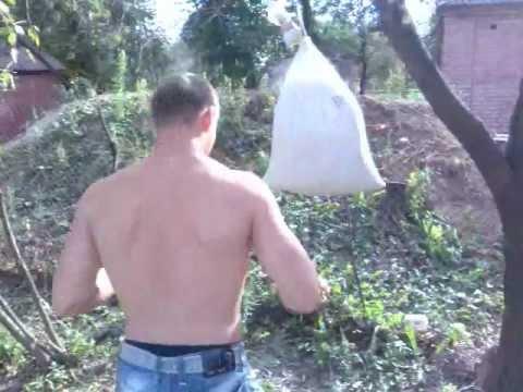 Самодельная груша для бокса как сделать