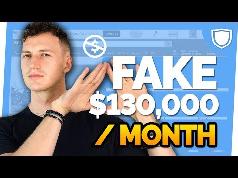 Exposing Amazon FBA Listing and Fake Reviews $130,000 Product