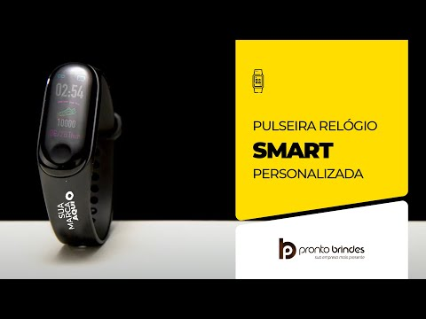 Pronto Brindes - Pulseira Smartwatch 14274-001