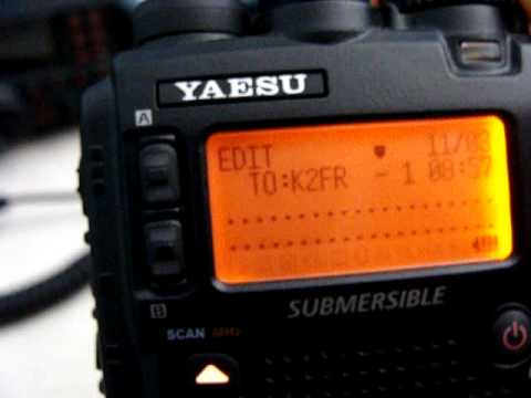 VX-8R APRS Messaging by K2FR