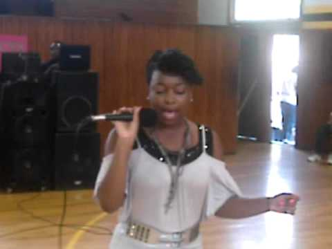 "NESHA RANKIN "" TOOTSIE POP""  THE LOU HAMER SHOW MCT TEST PEP RALLY RULEVILLE MIDDLE SCHOOL"