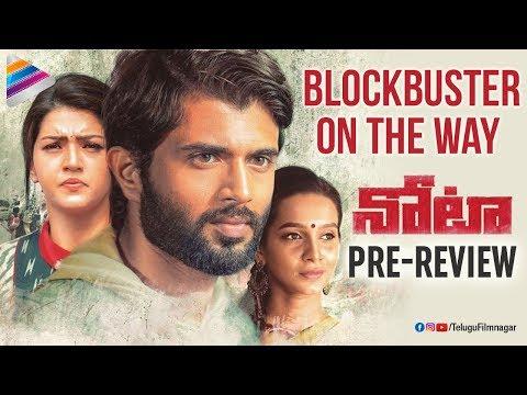 NOTA Movie Pre Review | Vijay Deverakonda | Mehreen | 2018 Telugu Movies | Telugu FilmNagar