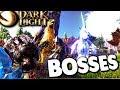 Dark and Light - ALL CREATURES, PEGASUS, REAPER, BOSSES, DEMONS ATTACK TOWN! ( ARK DNL Gameplay )