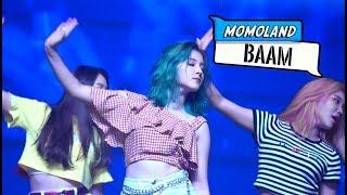 "MOMOLAND ? ""BAAM"" Live Fancam (HAN/ROM/ENG) | Soompi"