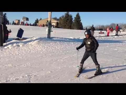 Sunil Kotin's Skiing at Sundown Mountain Dubuque, IA