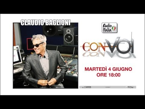 """Claudio Baglioni """"Con Voi"""" 2013: intervista eclusiva di Radio Italia"""