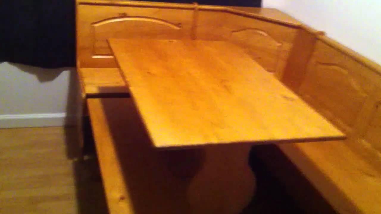 diy kitchen nook bench