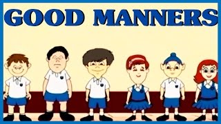 Learn Good Manners For Kids | Learn How To Be Kind | Good Manners For Children | Good Habits