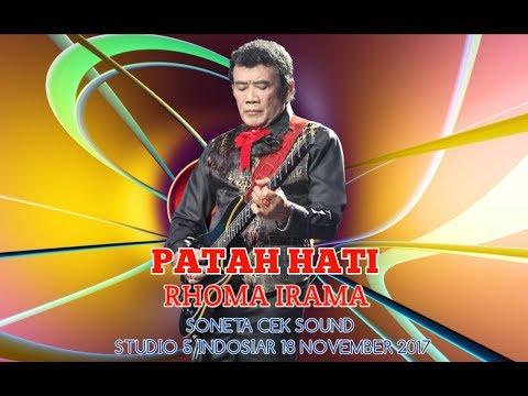 PATAH HATI - RHOMA IRAMA ( SONETA CEK SOUND )