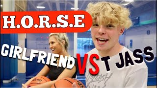 H.O.R.S.E vs My Girlfriend! (Loser Gets Makeup Done)
