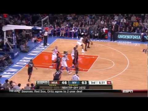 [11.2.12] Carmelo Anthony - 30 points vs Heat (Full Highlights)