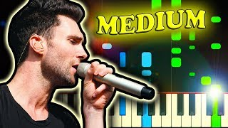 Download Lagu MAROON 5 - THIS LOVE - Piano Tutorial (Karaoke version) Gratis STAFABAND