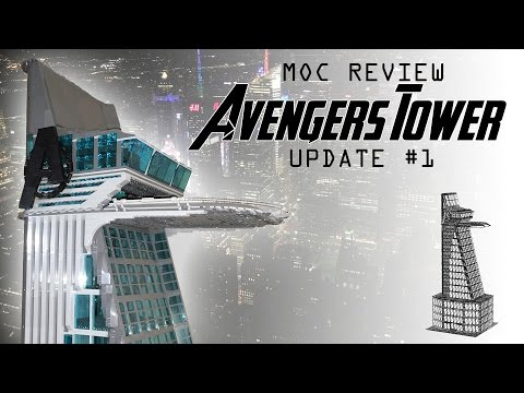 LEGO MOC Review: Avengers Tower Update #1