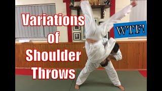 Variations of Shoulder throw - Seoi nage/Seoi Otoshi/Ippon Seoi Nage