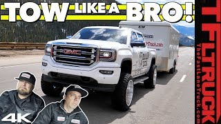 Lifted & Tuned GMC Sierra vs the Ike Gauntlet: World's Toughest Towing Test