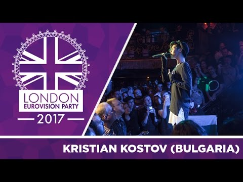Kristian Kostov - Beautiful Mess (Bulgaria) | LIVE | 2017 London Eurovision Party