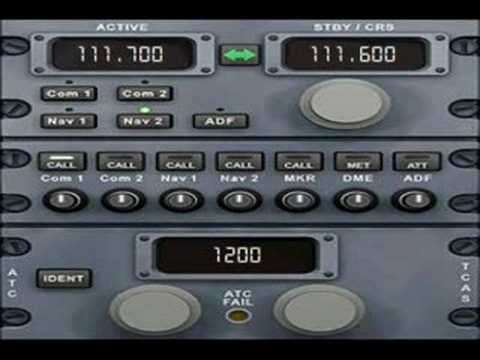 FSX default A321 ILS autoland and autopilot guide