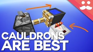 Why Cauldrons are the Best Blocks in Minecraft!