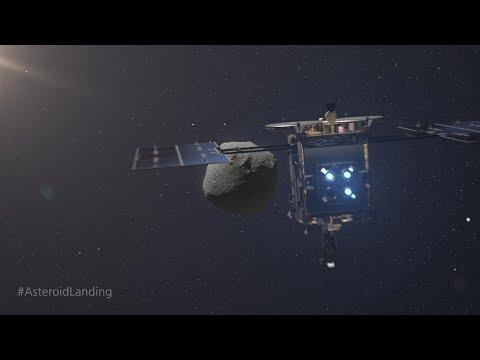 Die Landung von MASCOT - Mission Hayabusa2