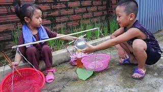 Trò Chơi Trẻ Em Bé Nhím Bán Bánh Cuốn - Bé Nhím TV - Đồ Chơi Trẻ Em Thiếu Nhi