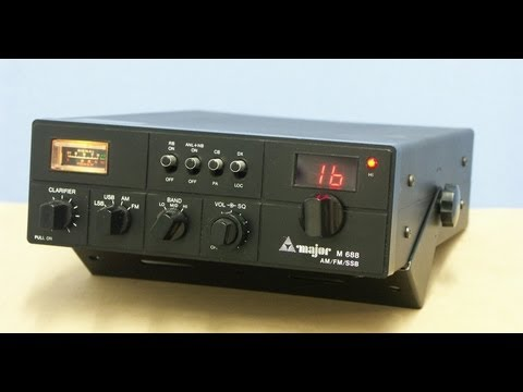MAJOR M688 CB-HAM-Radio by Cybernet