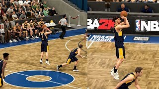 NBA 2K MyCAREER LaMelo Ball #6 - MELO HITS HALF COURT SHOT! Puts On Crazy Show
