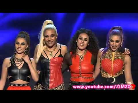 XOX (Girl Group) - Week 4 - Live Show 4 - The X Factor Australia 2014 Top 10