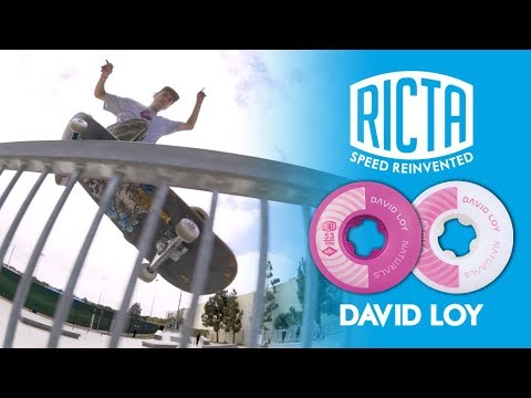 David Loy Skates LBC on Ricta Naturals
