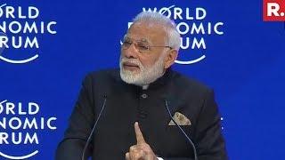 PM Narendra Modi At Davos   Full Speech
