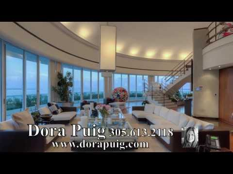 Decadent 2-story Penthouse At Bristol Tower - 2127 Brickell Ave Ph4000, Miami Luxury Condo video