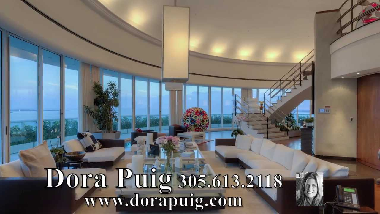 Decadent 2 Story Penthouse At Bristol Tower 2127