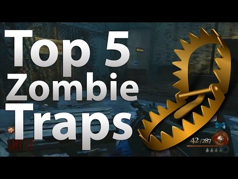 TOP 5 Traps in 'Call of Duty Zombies' - Black Ops 2 Zombies,  Black Ops & WaW