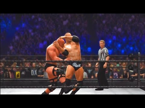Wwe 2k14: 30 Years Of Wrestlemania - Ruthless Aggression Era - 4 (the Rock Vs Stone Cold - Wm Xix) video