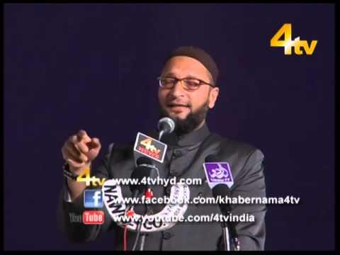 Janab Asaduddin Owaisi Sahab on Digvijay Singh 01-12-2014