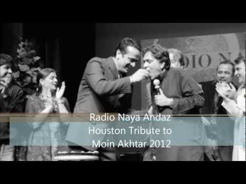 Tribute to Moin Akhtar by Radio Naya Andaz Houston Texas USA