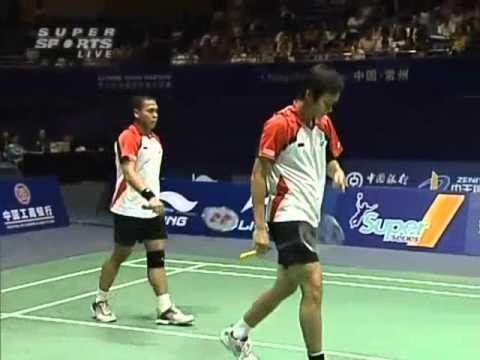 li ning china masters 2008 Markis KIDO 1 Hendra SETIAWAN vs Junjie SUN Chen XU Li Ning China Masters 2008 Final1