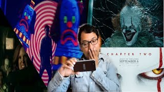 REACCIÓN IT CHAPTER TWO TRAILER FINAL (STEPHEN KING)