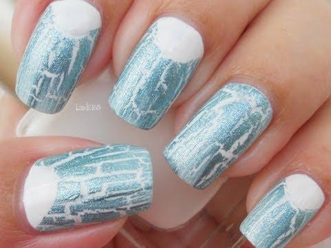 Nail Art - Ice Breaker (Crackle Polish)