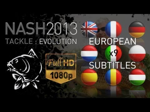CARP FISHING NASH 2013 FULL PROMO DVD 1080P & SUBTITLES NASH TACKLE KEVIN NASH CARP ANGLER