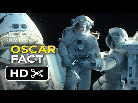 Gravity - Oscar Film Fact (2013) Sandra Bullock, George Clooney Movie HD