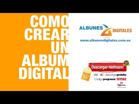 ALBUMES HOFMANN | Codigo Programa 101562 | Software para albumes digitales