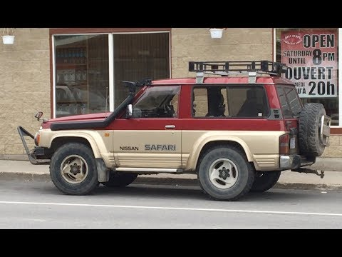 1980's Nissan Safari Kingsroad 4x4 SUV Japan Import Walkaround - Netcruzer CARS