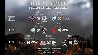 🔴[LIVE MPL - FULL HD] We Øwn Wørld VS Borneo Dragon FV | MPL SG/MY WEEK 2 DAY 3 | Season 2