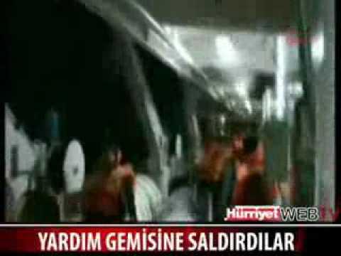 Israeli troops attacks Turkish ship carrying aid to Gaza