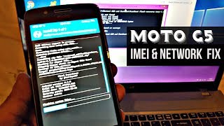 Moto G5 Cedric Missing imei & Broken Network Fix