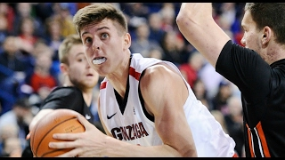Gonzaga's Zach Collins Throws Block Party vs. Pacific | CampusInsiders