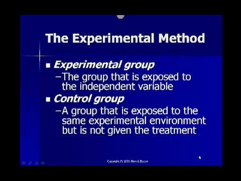 Experimental Method - YouTube